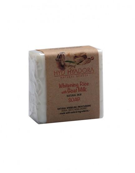 Pirinç Beyazlatıcılı Doğal Keçi Sütü Sabunu
